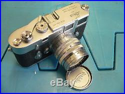 Leica M3 with Summarit f=5cm 11.5 Lens not working estate find