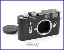 Leica M4 #1182648 Rangefinder Film Camera Body Black FREE SHIPMENT
