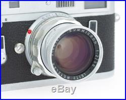Leica M4 #1193415 Rangefinder Film Camera with Summicron 2/50 mm
