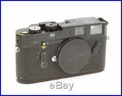 Leica M4 #1247069 Camera Body Black Paint
