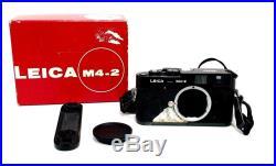 Leica M4-2 #1503981 Camera Body Made in Canada With Original Box