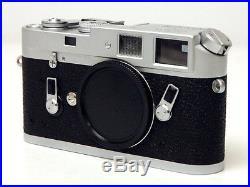Leica M4 35mm Rangefinder Film Camera Body Serial # 1179 162 Ex Plus Vintage