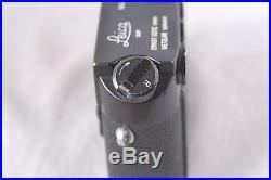 Leica M4 Black Paint Rangefinder Body CLA'd in Excellent Condition #1207337
