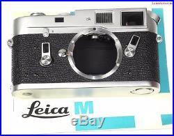 Leica M4 Chrome camera Set With Leica 50mm D. R & 90mm w. Box, cards, Mint- No Res
