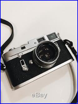 Leica M4 Manual Film Camera With Summicron 50mm F2 Collapsible Lens