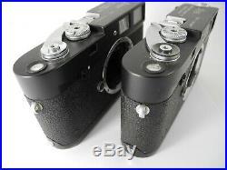 Leica M4 Midland Black Consecutive Numbered Cameras Parts Repair Panda Complete