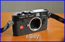 Leica M4-P Black Body Classic Manual Rangefinder 35mm Film Camera NICE