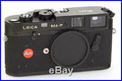 Leica M4-P black // 32661,1