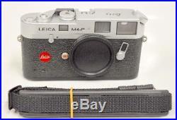 Leica M4-P by Leitz 35mm Silver Rangefinder Film Camera SN#1643476