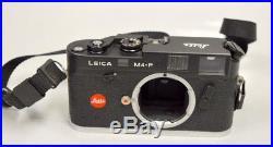 Leica M4-P by Leitz Black Rangefinder 35mm Camera Body SN#1606453