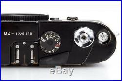 Leica M4 black paint // 31743,3