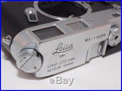 Leica M4 vintage 35mm film rangefinder camera. Good USER condition
