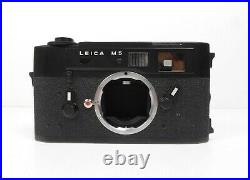 Leica M5 35mm Rangefinder Film Camera Body SN#1363957