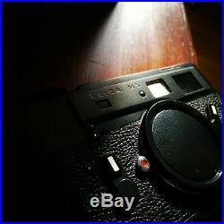 Leica M5 Black 2 Lug Rangefinder Camera