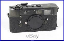 Leica M5 Black Body