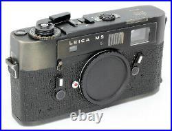 Leica M5 No. 1363131 Leitz Wetzlar Germany = TOP CLEAN 100% WORKING CONDITION B