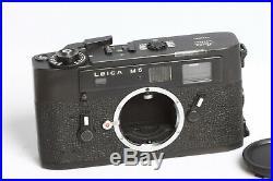 Leica M5 schwarz Gehäuse