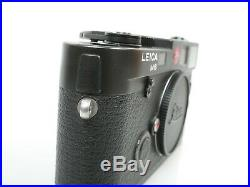 Leica M6 0,72 Nr. 1724566 Gehäuse body black Ernst Leitz Wetzlar GmbH schön nice