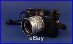 Leica M6 Ernst 35mm Leitz Wetzlar GMBH Rangefinder Camera