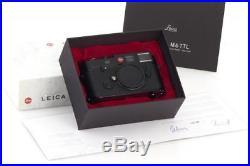 Leica M6 TTL Millennium Black Paint 10442 // 29762,56
