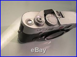 Leica M6 Ttl 0.85 Nice Conditions With Box Art 10466 Silver Chrome Finish