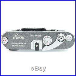 Leica MP 0.72, LHSA Edition with Leicavit, Grey Hammertone (Boxed)