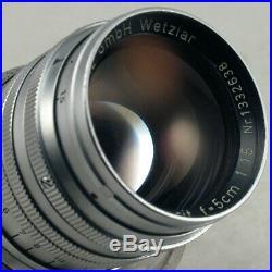 Leica Summarit 50mm f1.5 Lens for M2 M3 M4 M5 M6 EXC+++