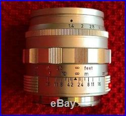 Leica Summilux M 50mm F1.4 Vintage 1959, Cricks Camera