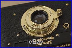 Leica camera Russian DDR & Lens Elmar f3.5/50mm Case (FED/ZORKI Copy) N180630