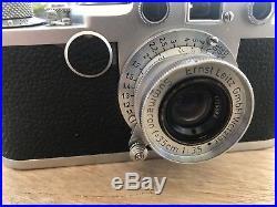 Leica iif rangefinder film camera m3 m2 m6 vintage 35mm summaron