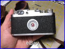 Leica iiig Camera with Summitar F=5cm Lens Nice