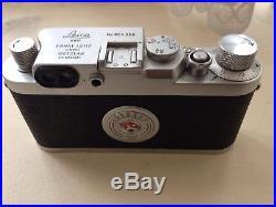 Leica iiig Film Camera Leitz