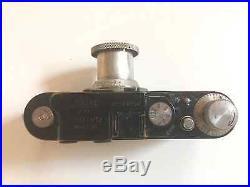 Leica ll Camera with 5cm f3.5 Elmar Nickel Finish