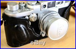 Leica lllG camera with Elmar 5cm 2.8 lens in excellent ++ condition