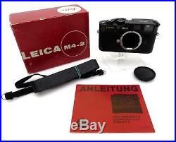 Leitz Leica Canada 1481642 M4-2 Viewfinder camera BODY jf219