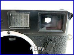 Leitz Leica Canada M4-P Kamera BODY No 1550094 schwarz black jm081