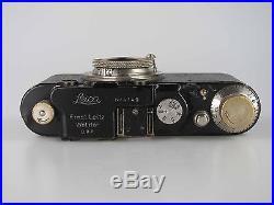 Leitz Leica I mit früher Nummer 4149 umbau nickel Elmar 80513