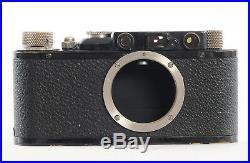Leitz Leica II (D) 35mm Rangefinder & Leitz Elmar 50mm f/3.5 Lens (1932) (4603R)