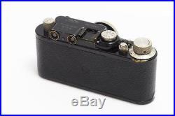 Leitz Leica II Mod. D Black/Nickel #79081 w. Elmar 3.5/5cm