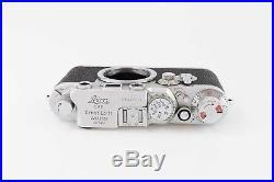 Leitz Leica III C Umbau zu III F mit Vorlaufwerk 82701