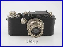 Leitz Leica III Model F black nickel mit Elmar 3,5 50 50mm 80972