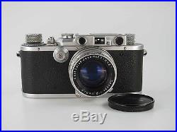 Leitz Leica III mit seltenem Carl Zeiss Sonnar 2 5cm 50 mm