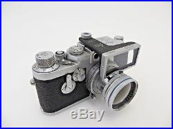 Leitz Leica IIIg 870715 ADVOO M39 ELMAR 1438604 5 cm F2,8 ja205