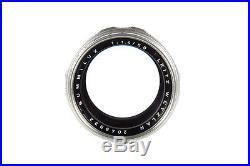 Leitz Leica M 50mm f1.4 Summilux original c1950s German Lens -Mint