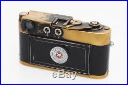 Leitz / Leica M2 Black Anodised Custom Made