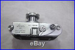 Leitz Leica M3 #1057270 Rangefinder Camera with 50mm 12.8 Collapsible