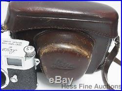 Leitz Leica M3 818 900 German Camera Body w Leather Case