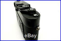 Leitz Leica M4 P 1545120 black BODY Made by Leitz Canada with Bag jv009