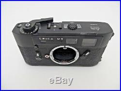 Leitz Leica M5 BLACK 1348320 Viewfinder Camera Body OVP jc093