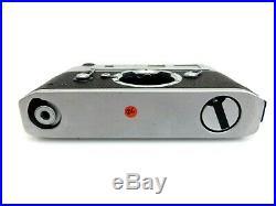 Leitz Leica M5 Chrome Kamera BODY 2 lugs 1291520 mit Zubehör jl093